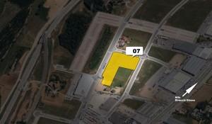 """""""Venta de parcela industrial (Ref.07) de 9.751m2 en el polígono Pla de la Seva. Fornells de la Selva. Girona"""""""